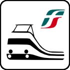 Stazione FS - Distanza 1200 metri 17 minuti a piedi