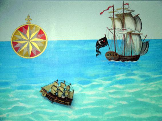 Decorazione interni navi
